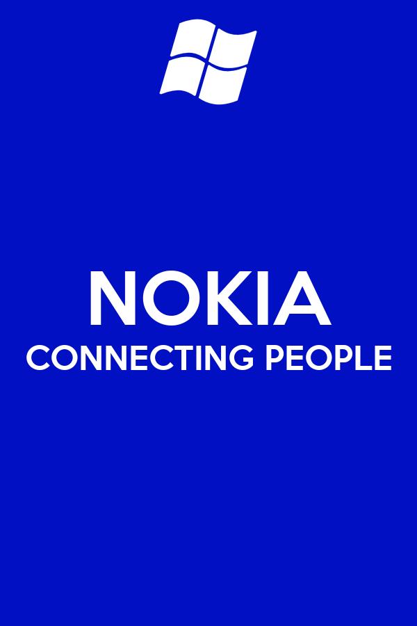 nokia connecting people logo - photo #3