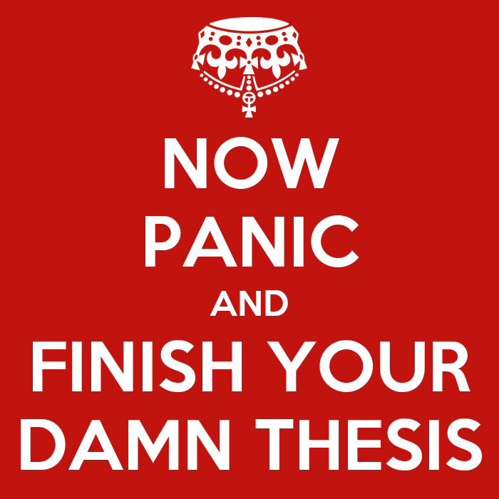 panicking about thesis I'd never written an essay before, so doing my a-levels and retaking gcses  it's  why now her advice for young people worrying about their.