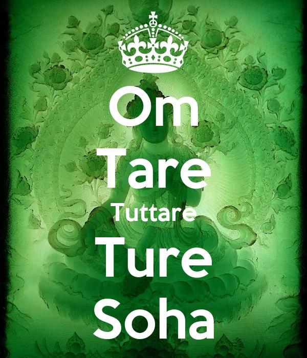 Om Tare Tuttare Ture Soha Poster Loutianzhi Keep Calm O Matic