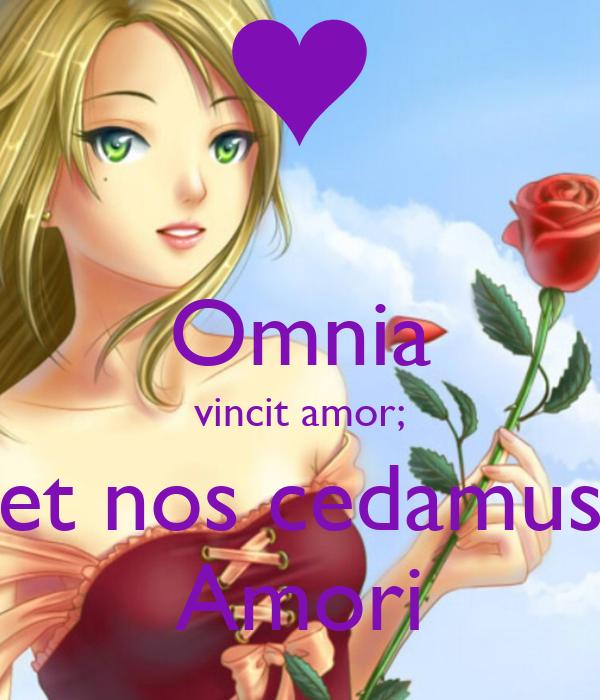 omnia vincit amor et nos cedamus amori keep calm and. Black Bedroom Furniture Sets. Home Design Ideas