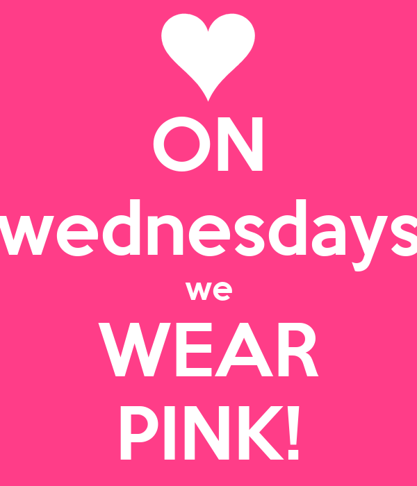 Mean Girls Quotes On Wednesdays We Wear Pink: DivergentisLIFE