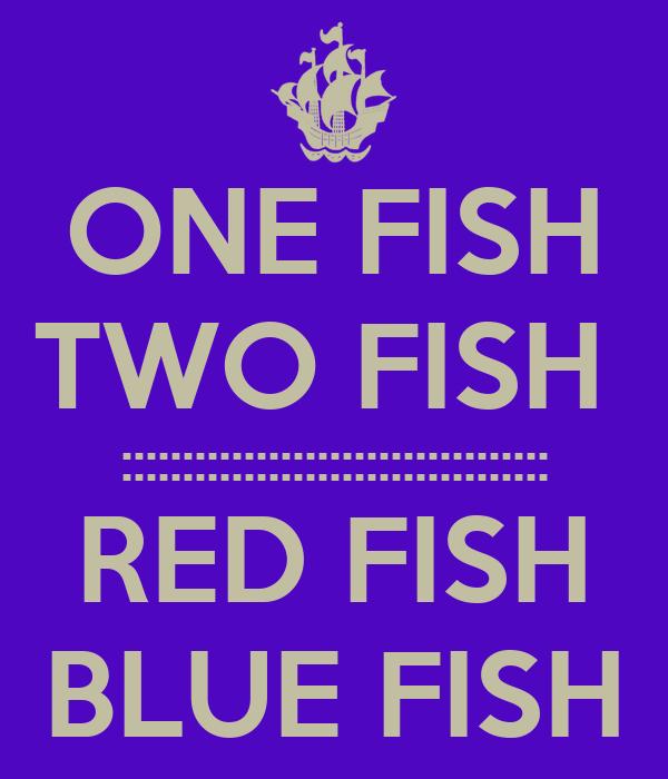 one fist two fish red fish blue fish pdf