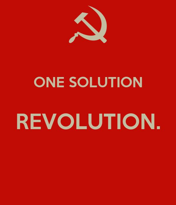One Solution - Revolution