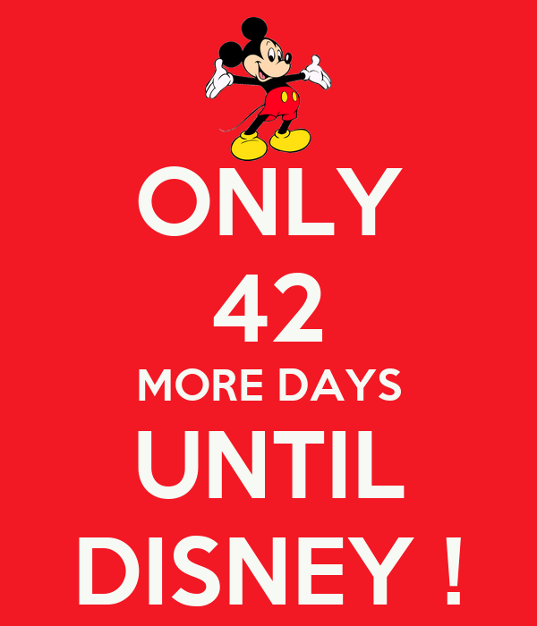 how many more days until your trip to wdw part 8 page 189 the dis disney discussion forums. Black Bedroom Furniture Sets. Home Design Ideas