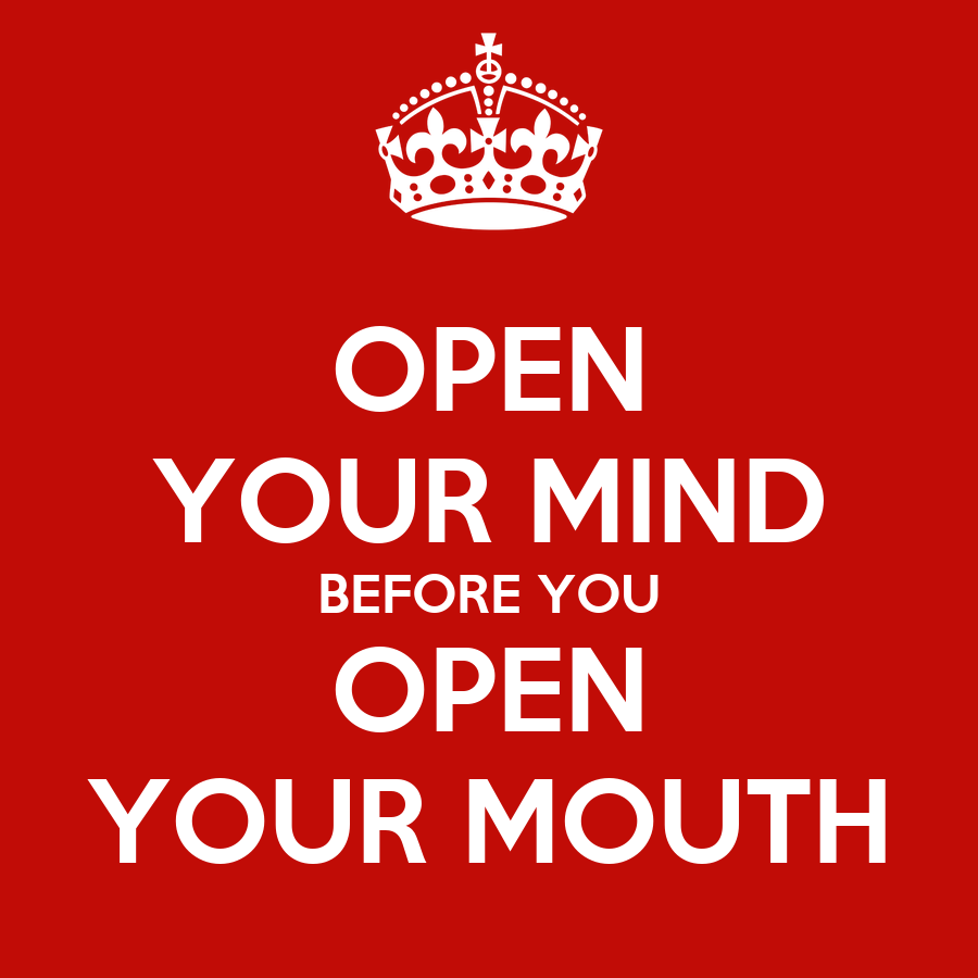 open your mind essay To have an open mind means to be willing to consider or receive new and different ideas it means being flexible and adaptive to new experiences and ideas.