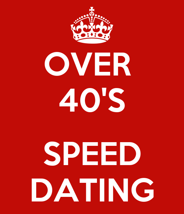 Speed dating nyc 40 over