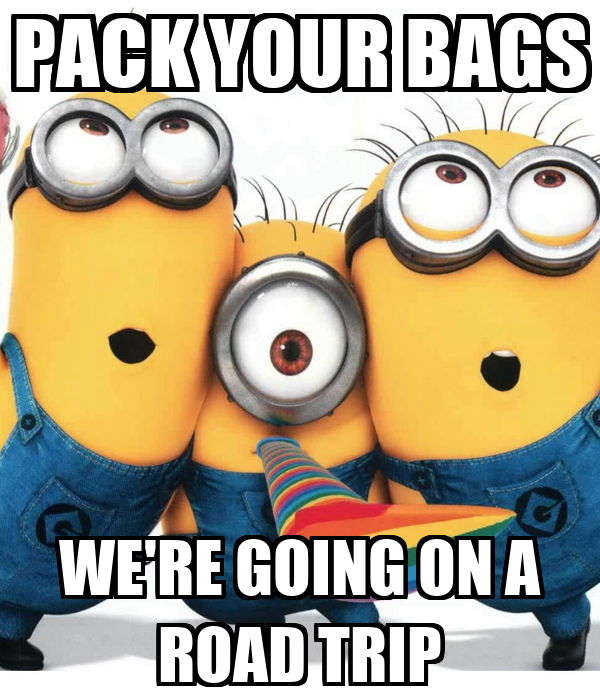 Pack Your Bags We Re Going On A Road Trip Poster Coolguy