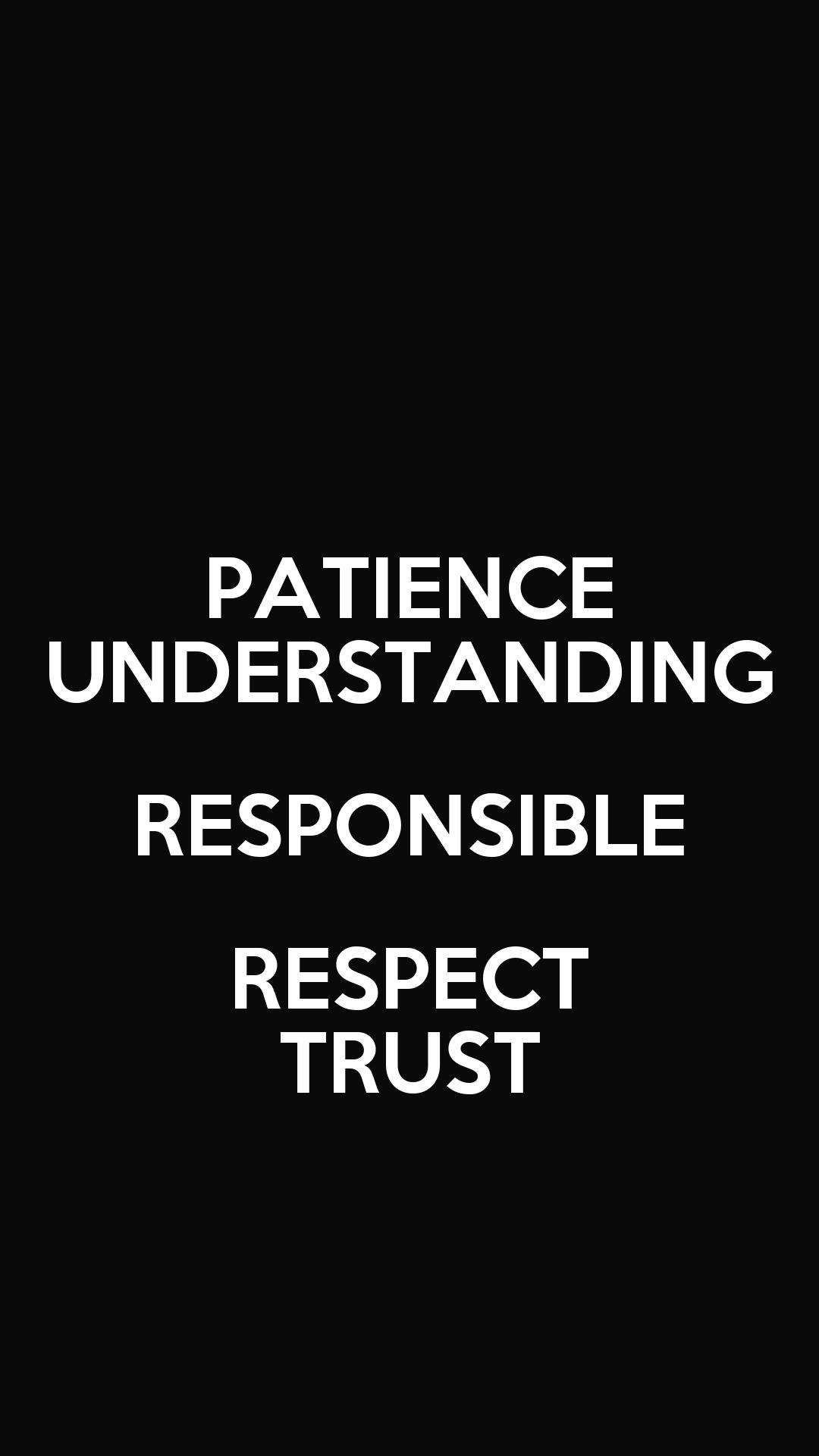 Patience-trust 11