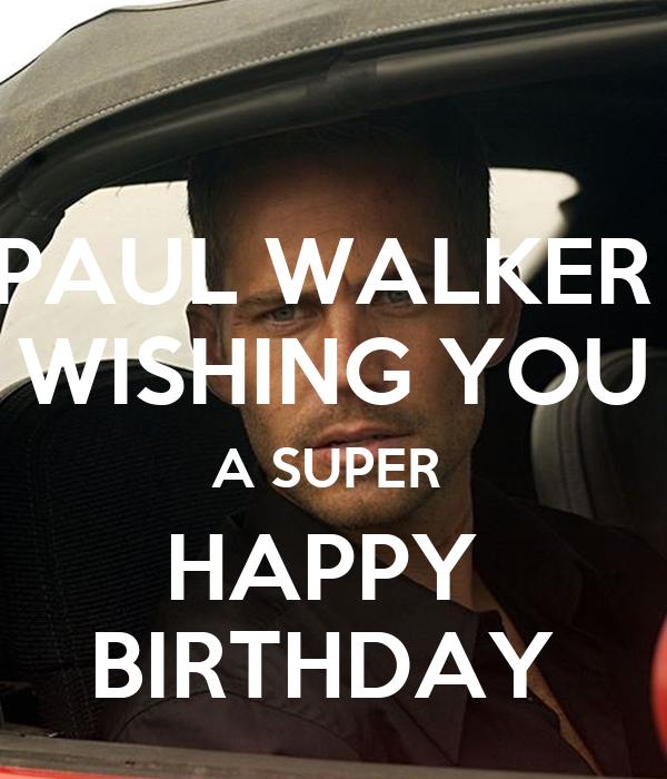Walker Happy Birthday