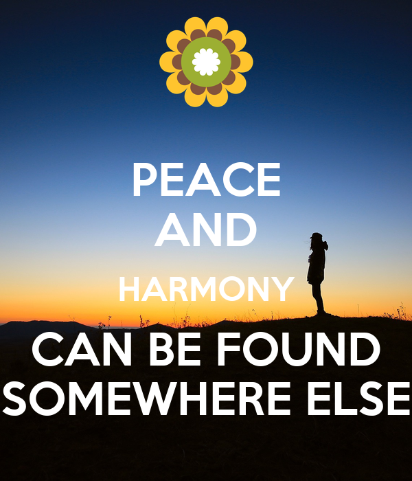 peace and harmony Peace and harmony in lodge is also a pillar of the degree work if you look at the teachings of all three degrees, you will find that topic repeated, either directly or through ritual and symbolism.