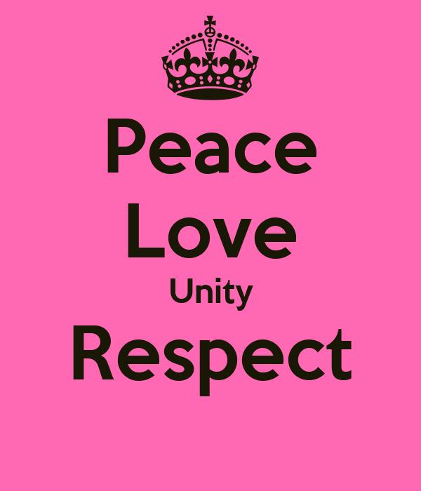 Peace-Love-Unity