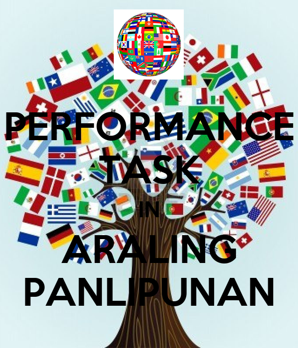 performance task Developing performance tasks or performance assessments seems reasonably straightforward, for the process consists of only three steps8 the reality, however, is that quality performance tasks are.