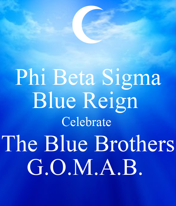 Phi Beta Sigma Wallpaper Phi Beta Sigma Blue Reign
