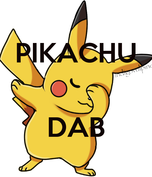 Pikachu dab poster jacob keep calm o matic