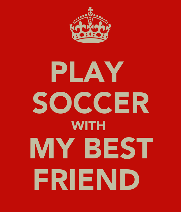 Soccer posters for friends