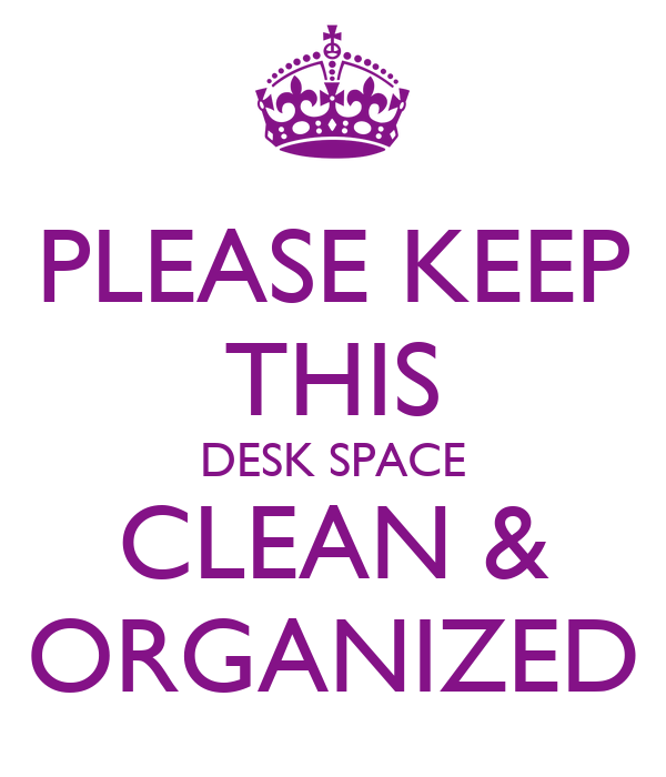 How to keep your desk clean and organized simple tricks - How to keep your desk organized ...