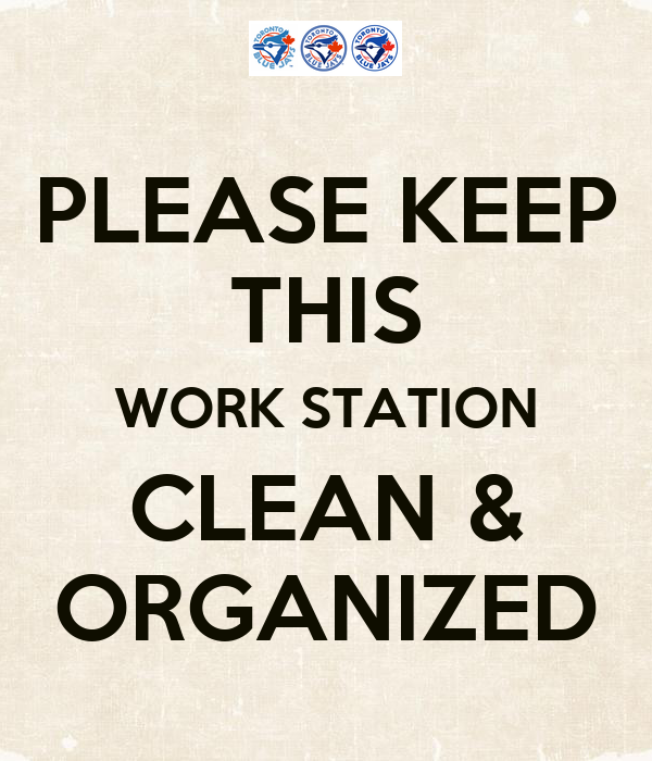 Keep Organized At Work