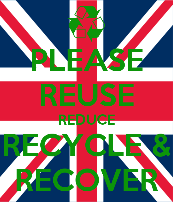 reduce reuse recycle recover 2017-12-10  the strains resulting from population growth, excessive consumption and the effect of pollution on nature and human health have led to questions regarding the methods by which people conduct their lives reduce, reuse and recycle are separate but interconnected concepts that support the same goal of.