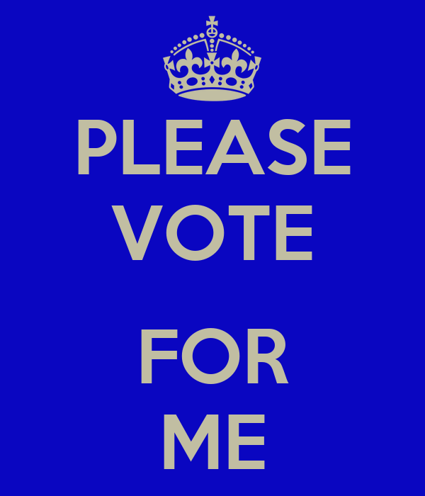 """vote for me He would go so far as to vote for himself """"i would vote for me the body of work, how i'm doing it, what's been happening with our team all year."""