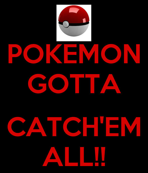 Xy Gotta Catch Em All Pokemon List Images