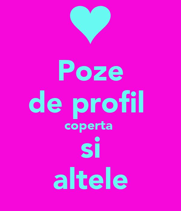 Poze de profil coperta si altele Poster | andreea | Keep