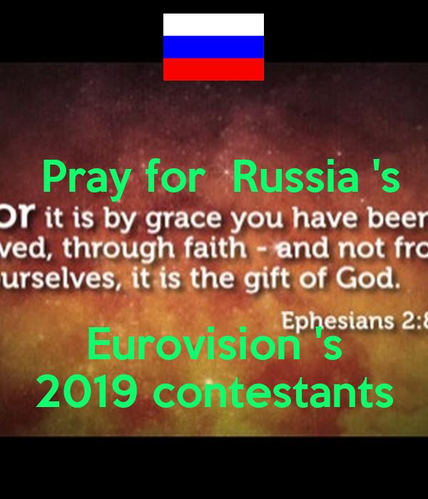 eurovision 2019 russia