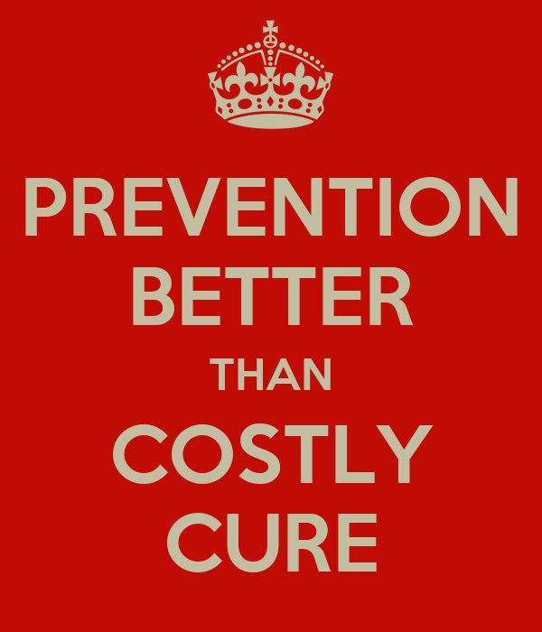 prevention is better than cure health essay titles