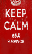 BE A SURVIVOR - Personalised Poster large