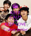KEEP CALM AND KEEP LOVE Coboy Junior - Personalised Poster large