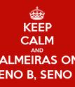 KEEP CALM AND MINHA TERRA TEM PALMEIRAS ONDE CANTA O SABIÁ SENO A COSSENO B, SENO B COSSENO A - Personalised Poster large