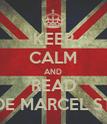 KEEP CALM AND READ NOVELAS DE MARCEL STYLES Y TU - Personalised Poster large