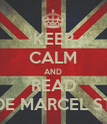 KEEP CALM AND READ NOVELAS DE MARCEL STYLES Y TU - Personalised Poster large