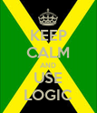 KEEP CALM AND USE LOGIC - Personalised Poster large