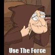 Use The Force - Personalised Tea Towel: Premium