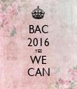BAC 2016 YES WE CAN - Personalised Tea Towel: Premium