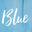 Blue - Personalised Tea Towel: Premium