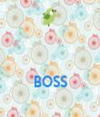 BOSS  - Personalised Tea Towel: Premium