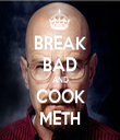BREAK BAD AND COOK METH - Personalised Tea Towel: Premium
