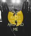 CASH RULES EVERYTHING AROUND ME - Personalised Tea Towel: Premium
