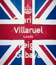 Charizze Villaruel Loves Reign Gabaya - Personalised Tea Towel: Premium