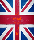 Do what you want to do - Personalised Tea Towel: Premium