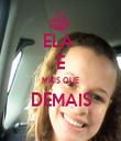 ELA  É MAIS QUE DEMAIS  - Personalised Tea Towel: Premium