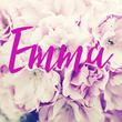Emma - Personalised Tea Towel: Premium