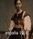 españa 1924 - Personalised Tea Towel: Premium