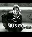 FELIZ DÍA DEL MUSICO  - Personalised Tea Towel: Premium