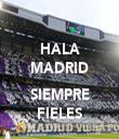 HALA MADRID  SIEMPRE FIELES - Personalised Tea Towel: Premium