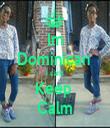 Im Dominican  i cant Keep  Calm - Personalised Tea Towel: Premium