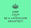 KEEP CALM AND BE A LANDSCAPE ARCHITECT - Personalised Tea Towel: Premium