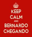 KEEP CALM AND BERNARDO CHEGANDO - Personalised Tea Towel: Premium