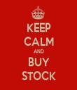 KEEP CALM AND BUY STOCK - Personalised Tea Towel: Premium